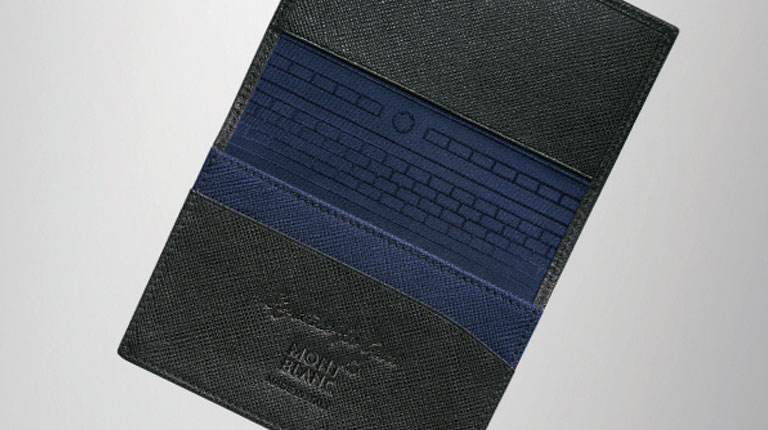 Montblanc signature for good collection new yorker on the town montblanc signature for good business card holder with gusset colourmoves